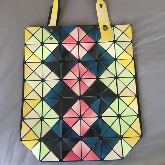 214658481683 Issey Miyake Handbags - Large multicolor Bao Bao Tote bag by Issey Miyake